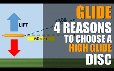 GLIDE: The 4 Reasons to Choose a High Glide Rated Disc Golf Disc