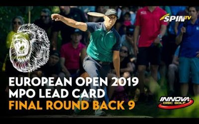 European Open 2019 MPO Lead Card Final Round Back 9 (Wysocki, McMahon, McBeth, Tamm)