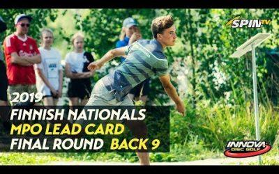 Finnish Nationals 2019 – MPO Final Round, Back 9 (Vikström, Heinänen, Räsänen, Nieminen)