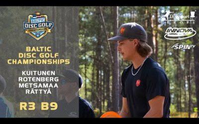 Innova Baltic Tour Championship 2019 – Final Round, Back 9