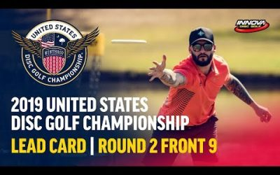 2019 USDGC – Lead Card Round 2, Front 9 (Clemons, Lizotte, Gibson, Queen)