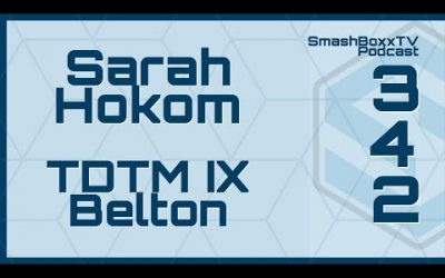 Sarah Hokom – Throw Down the Mountain IX – The Open at Belton – SmashBoxxTV Podcast #342
