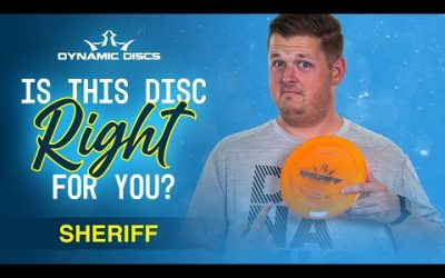 How Far Will the Dynamic Discs Sheriff Fly?   Is This Disc Right For You?