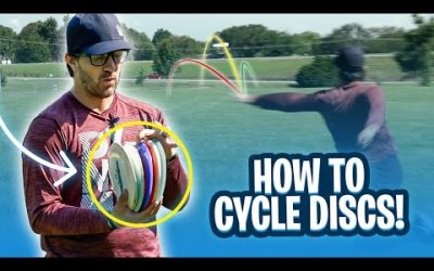How to cycle discs without overlap! Ft. Eric Oakley | Disc Golf Beginner's Guide